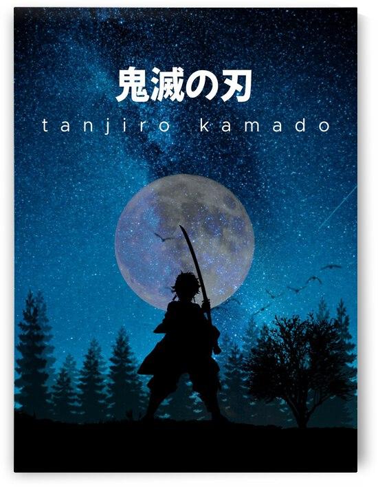 Tanjiro Kamado Demon Slayer by Vicky Hanggara