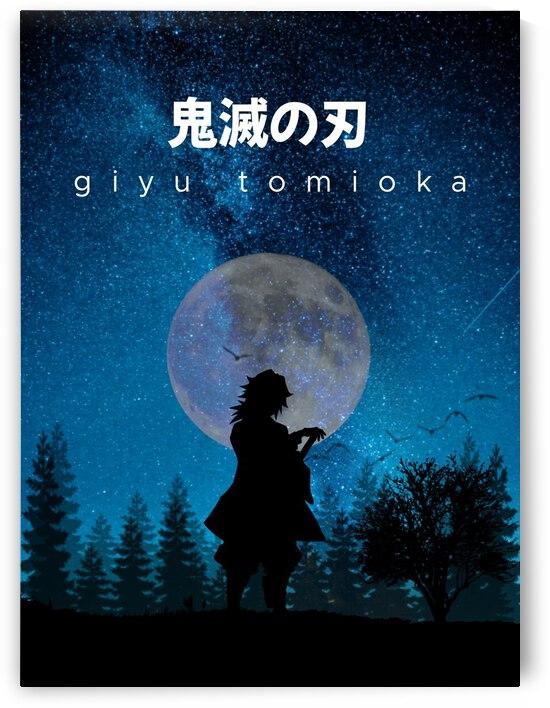 Giyu Tomioka Demon Slayer by Vicky Hanggara