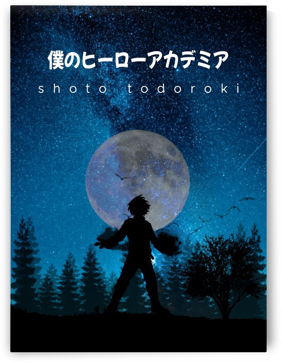 Shoto Todoroki My Hero Academia by Vicky Hanggara