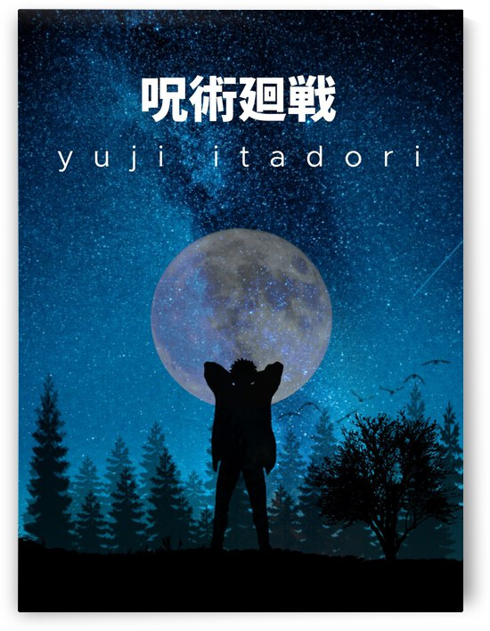 Yuji Idatori Jujutsu Kaisen by Vicky Hanggara