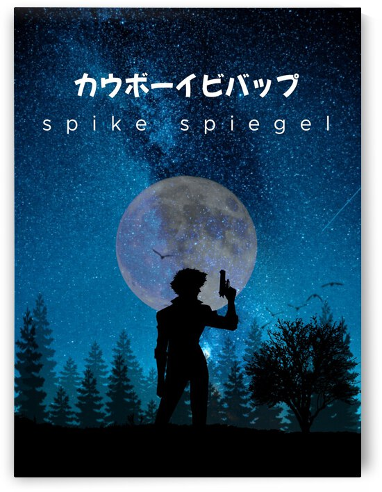 Spike Spiegel Cowboy Bebop Anime by Vicky Hanggara