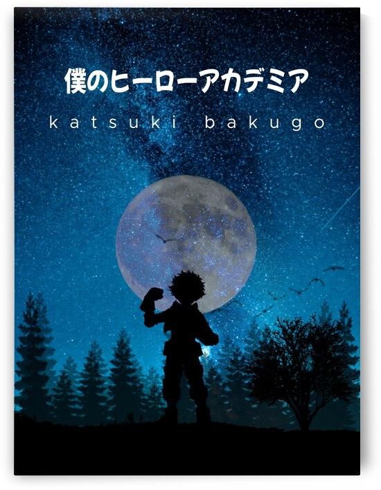 Katsuki Bakugo My Hero Academia by Vicky Hanggara