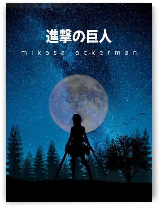 Mikasa Attack On Titan by Vicky Hanggara