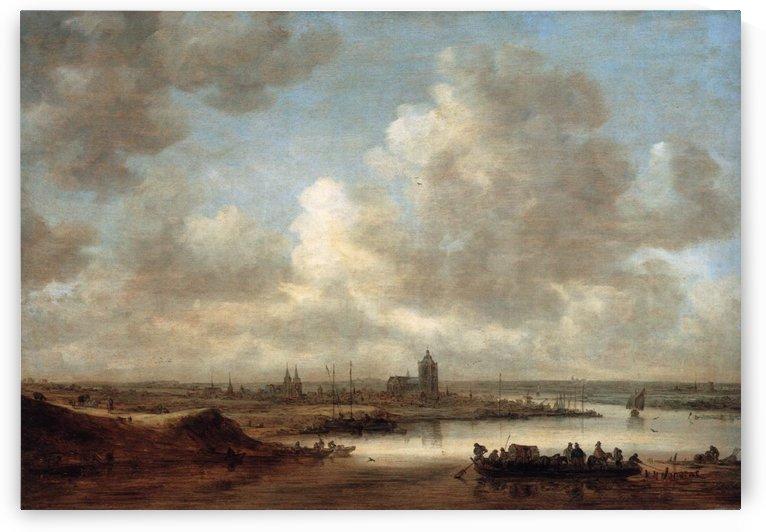 The Rhine at Arnhem by Jan van Goyen