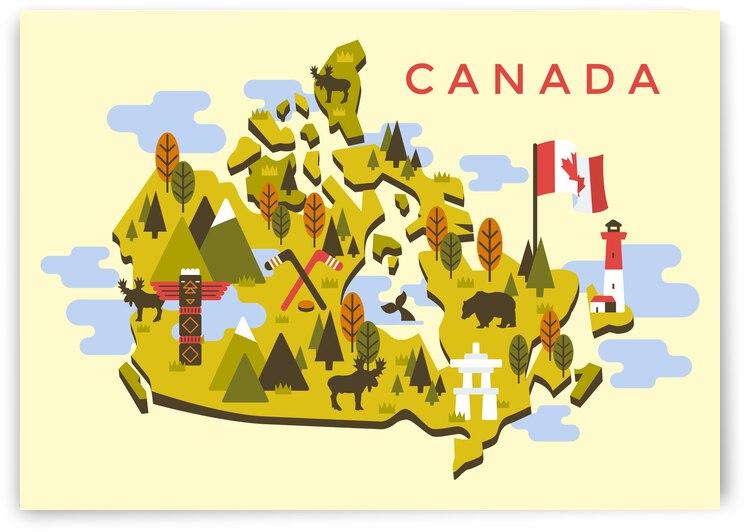 Canada Map by SamKal