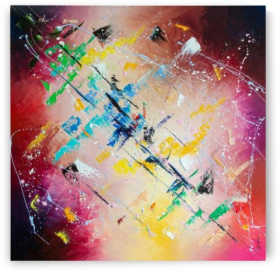 Colorful diagonal by Liubov Kuptsova