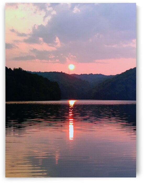 Lake Sunset 2 by JulesSnow