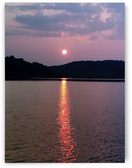 Lake Sunset by JulesSnow