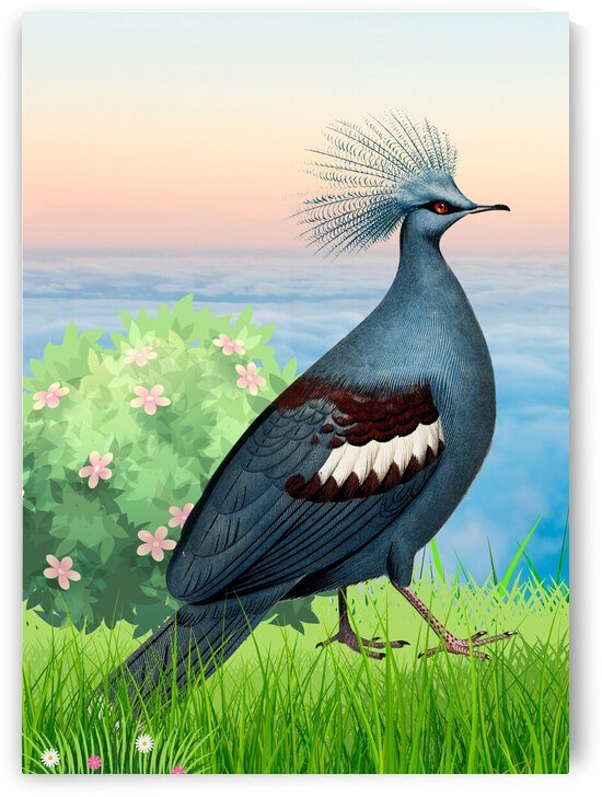 Blue Bird by Ashira Designs