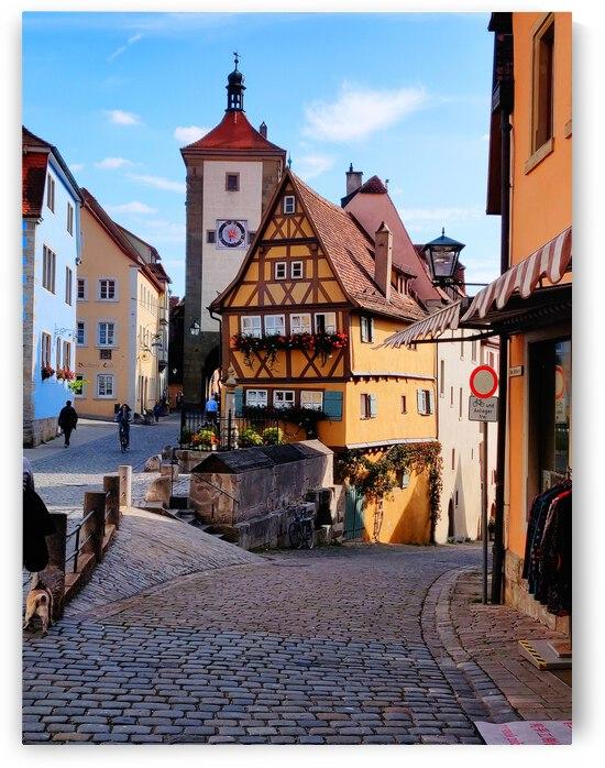 Rothenburg Au Der Tauber by JulesSnow