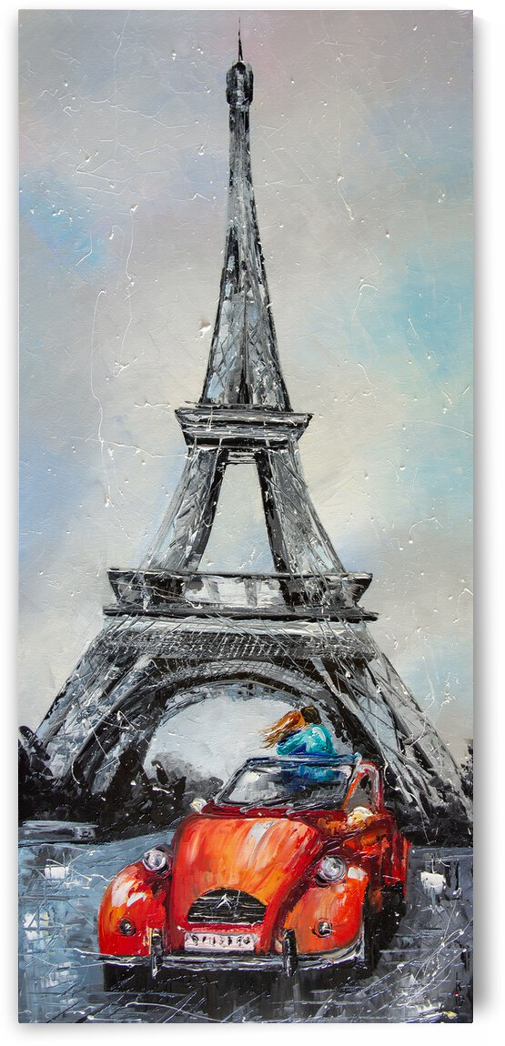 Date in Paris by Liubov Kuptsova