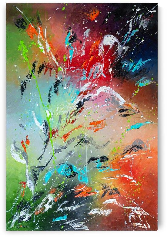 Flowers flame by Liubov Kuptsova