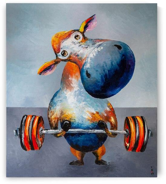 Im an athlete by Liubov Kuptsova