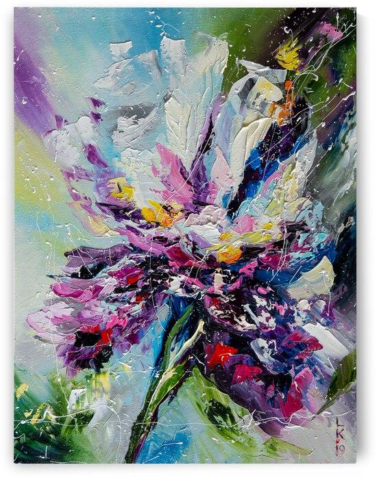 Iris flower by Liubov Kuptsova
