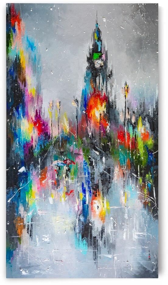 Londons rain by Liubov Kuptsova