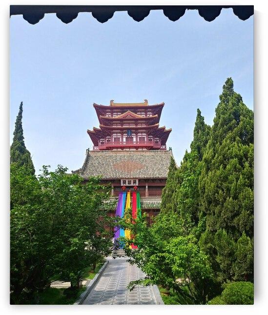 Temple chinois by William Tetu