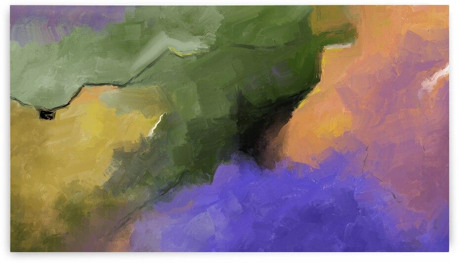Lavender Tea Fields by Eduardo Tavares