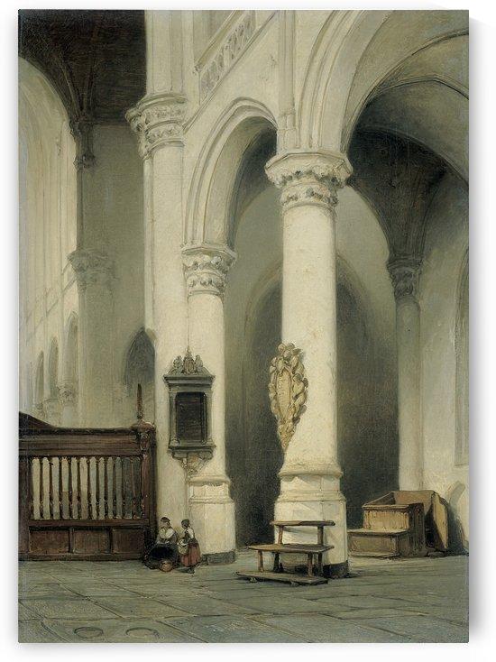 Kerkinterieur by Johannes Bosboom