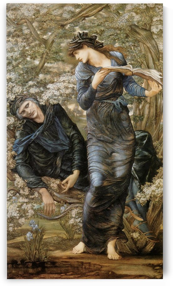 The beguiling of Merlin by Sir Edward Coley Burne-Jones