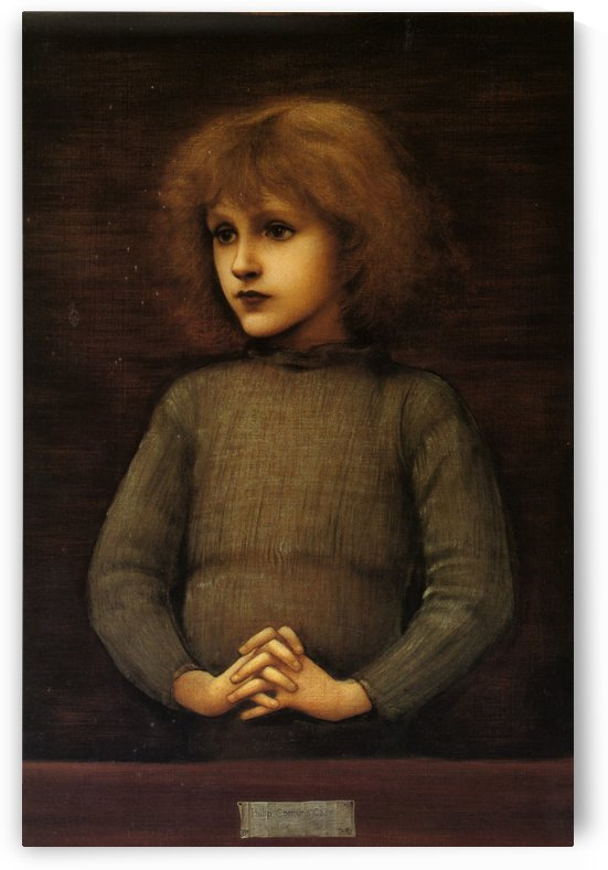 Jones Philip Comyns Carr 1882 by Sir Edward Coley Burne-Jones