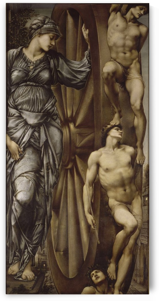 The Wheel of Fortune 1875 by Sir Edward Coley Burne-Jones