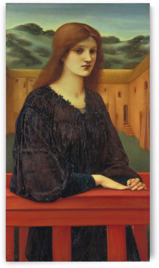 Vespertina Quies by Sir Edward Coley Burne-Jones