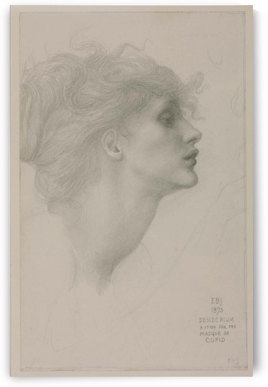 Desiderium by Sir Edward Coley Burne-Jones