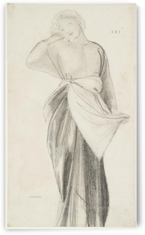 Study for Cinderella by Sir Edward Coley Burne-Jones