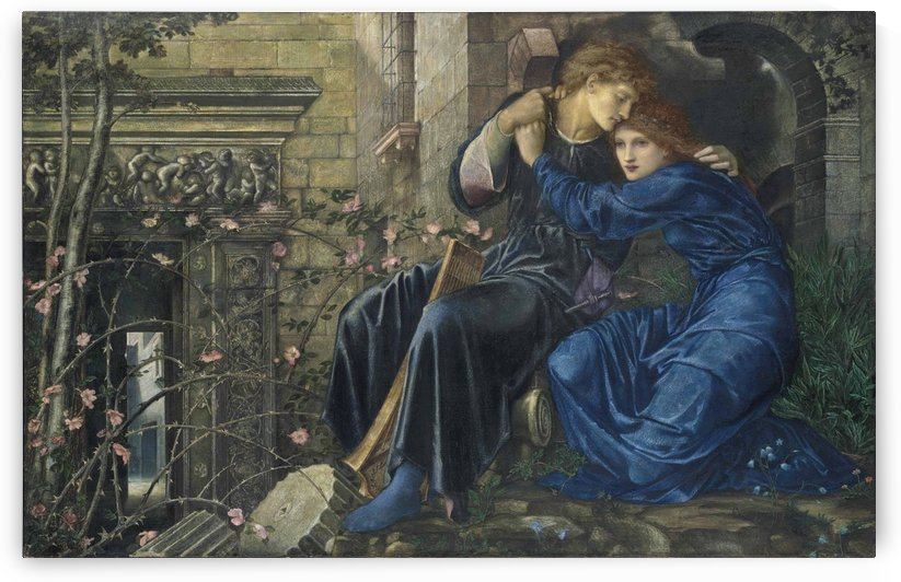 Love among ruins by Sir Edward Coley Burne-Jones