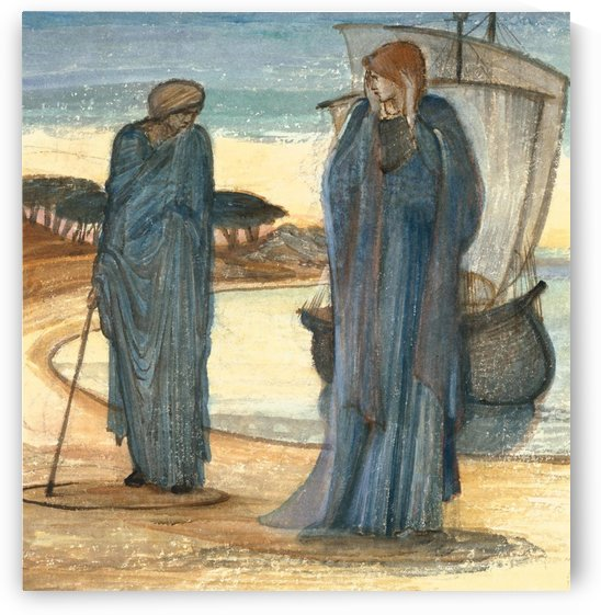 The Magic Circle by Sir Edward Coley Burne-Jones