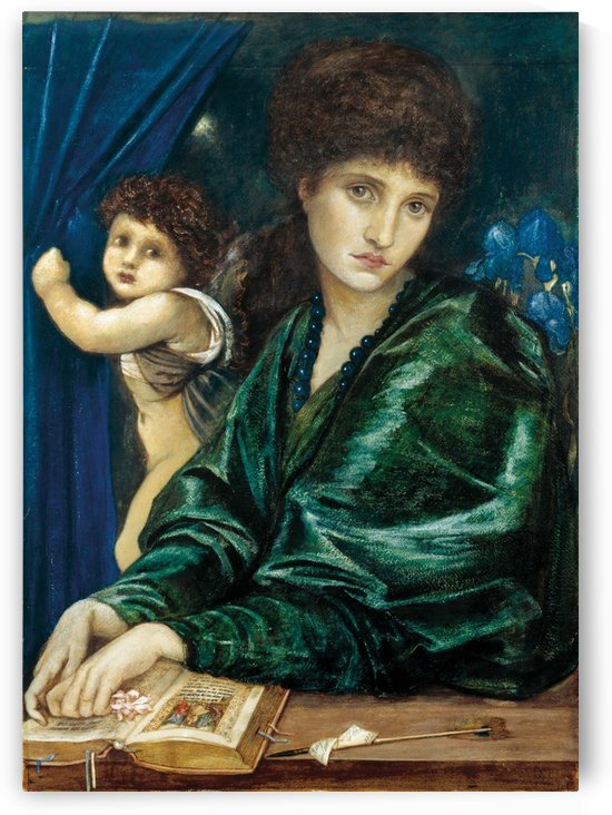 Maria Zambaco, 1870 by Sir Edward Coley Burne-Jones
