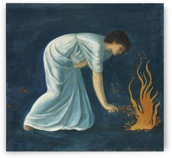 Hero by Sir Edward Coley Burne-Jones