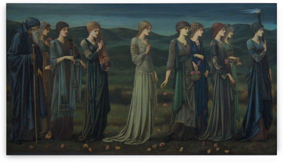 Wedding, 1895 by Sir Edward Coley Burne-Jones