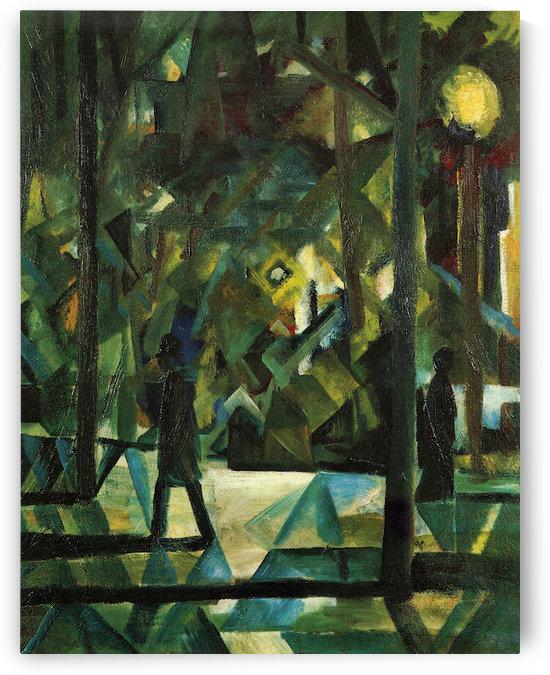 Evening by August Macke by August Macke