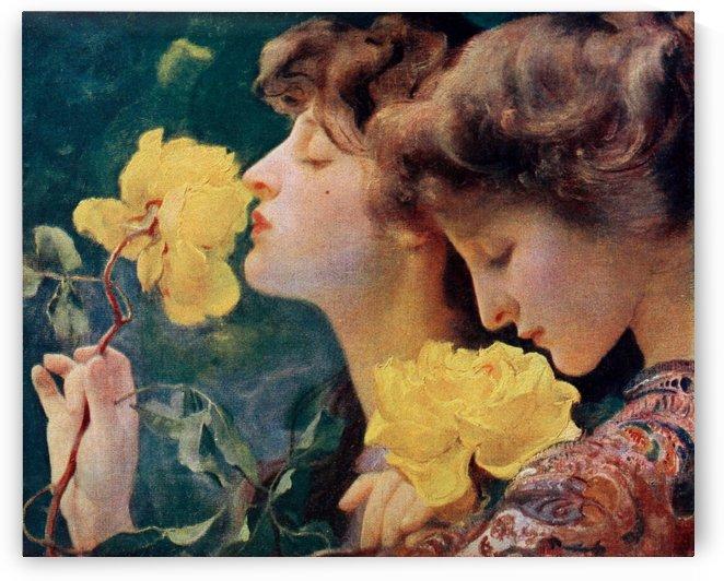 The Four Roses by Franz Dvorak