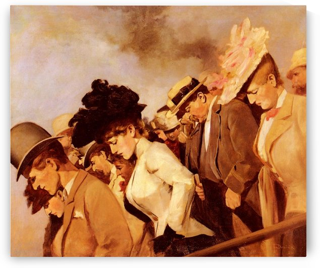 At The Races by Franz Dvorak
