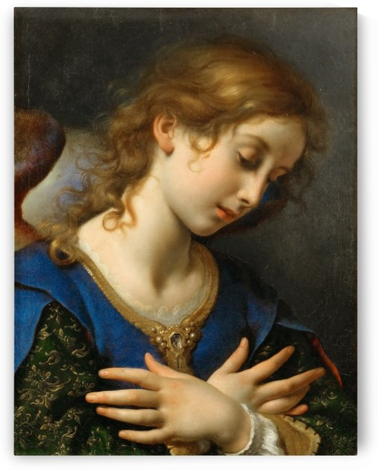 The Angel of Annunciation, 1653 by Carlo Dolci