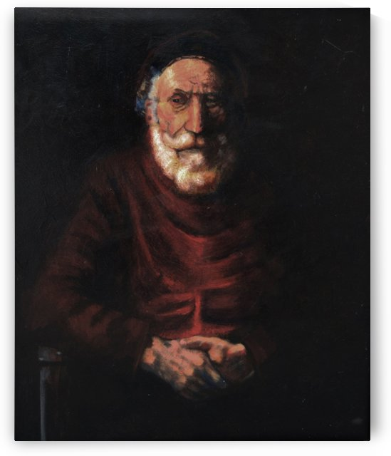 Old man by Carlo Dolci