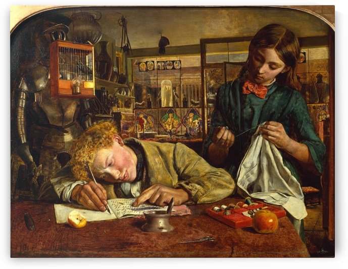 Kit Writing Lesson by Robert Braithwaite Martineau