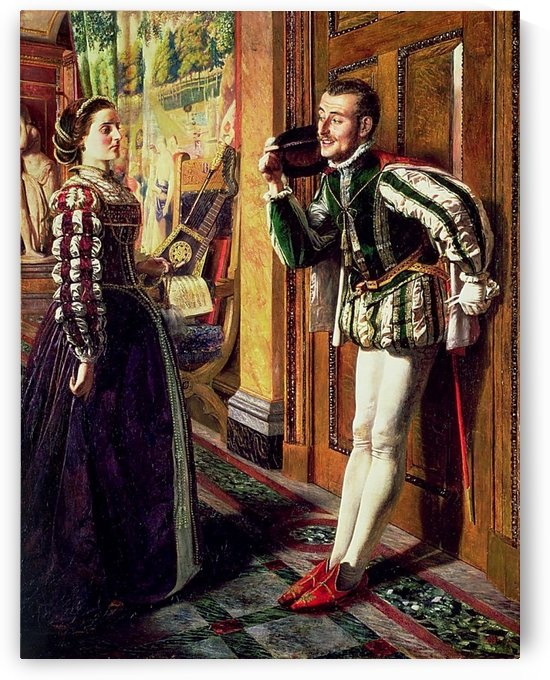 The Taming of the Shrew Katherine and Petruchio by Robert Braithwaite Martineau