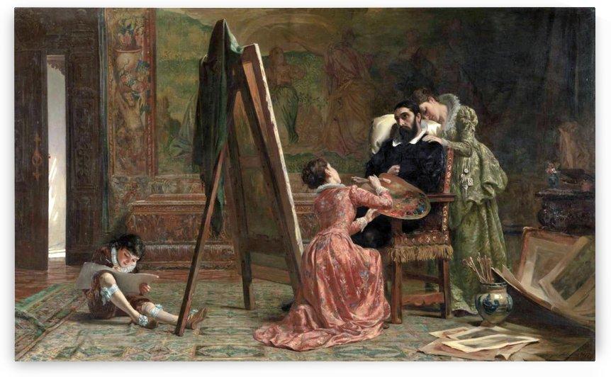 Ars Longa, Vita Brevis 1877 by John Evan Hodgson