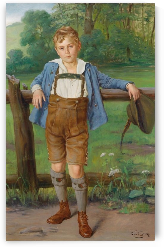 The New Lederhosen by Carl Zewy