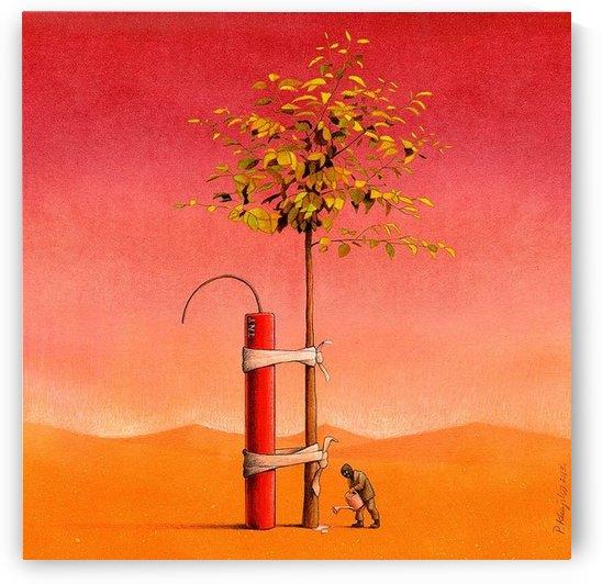 Garden keeper by Pawel Kuczynski
