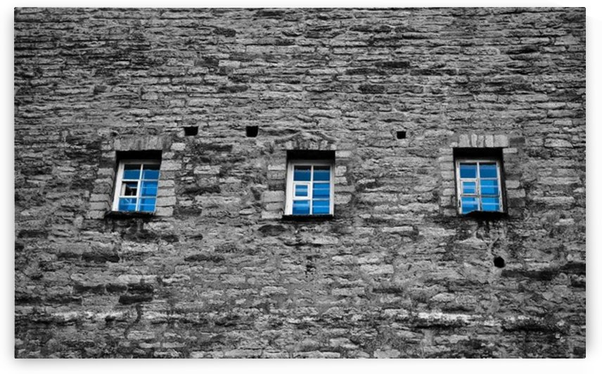Blue Windows by Lpulitude