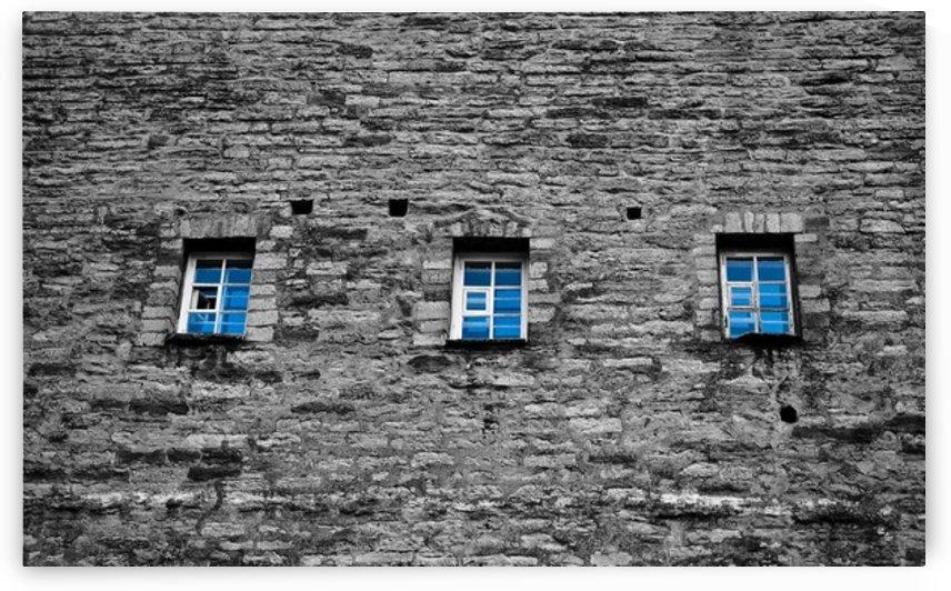 Blue Windows by Lpulitude