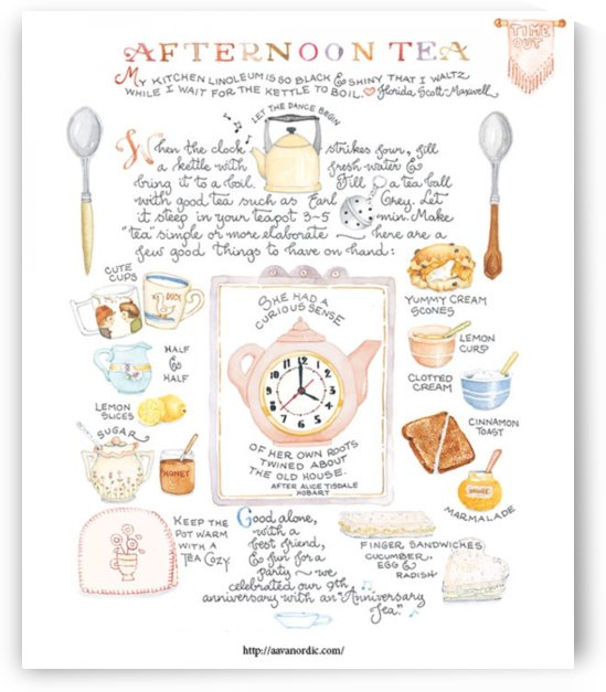 Best advice for setting a beautiful table - AFTERNOON TEA by Kyle Olmsted