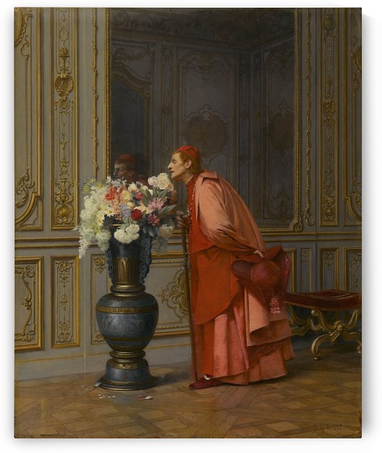 An Embarrassment of Choices by Jehan-Georges Vibert