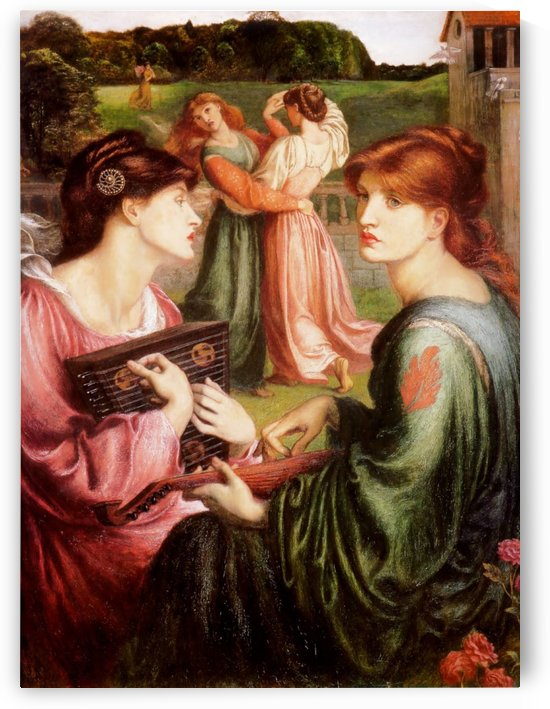 Bower Meadow by Dante Gabriel Rossetti