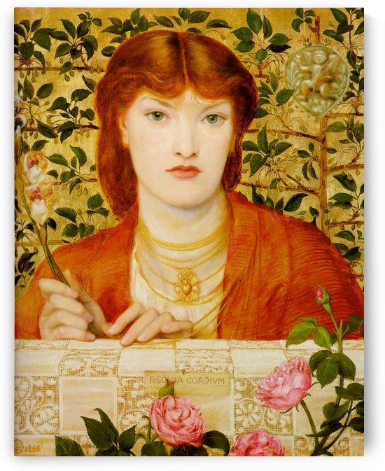 Regina Cordium - Alice Wilding by Dante Gabriel Rossetti