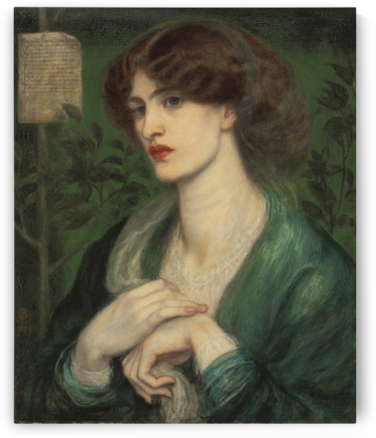 The Salutation of Beatrice by Dante Gabriel Rossetti
